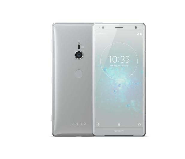Sony Xperia XZ2 H8266 4/64GB Dual SIM Płynne srebro - 412876 - zdjęcie