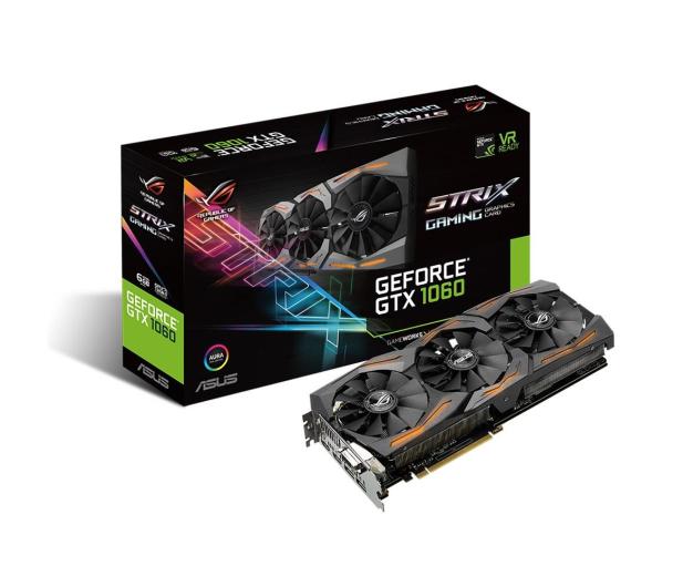 ASUS GeForce GTX 1060 Strix 6GB GDDR5  - 316842 - zdjęcie