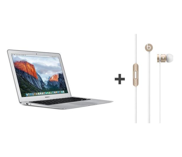 Apple MacBook Air i5/8GB/128GB/HD6000+urBeats Gold - 412761 - zdjęcie 1