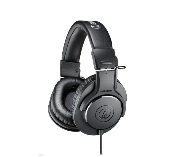 Audio-Technica ATH-M20X Czarny - 413149 - zdjęcie 2