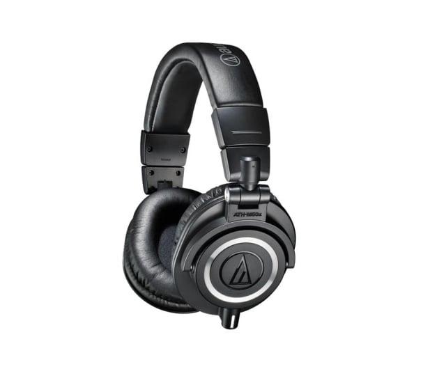 Audio-Technica ATH-M50X Czarny - 413144 - zdjęcie 2