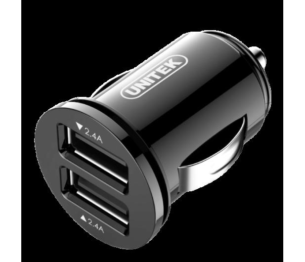 Unitek Ładowarka samochodowa 2 x USB 4,8A 24W - 413663 - zdjęcie
