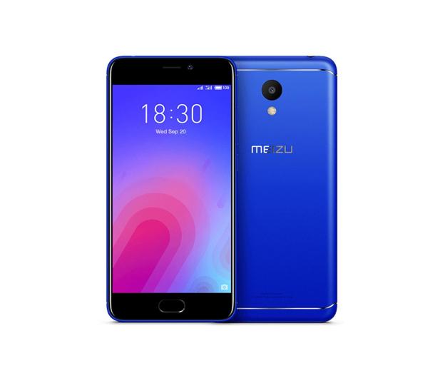 Meizu M6 2/16GB Dual SIM LTE niebieski - 424354 - zdjęcie