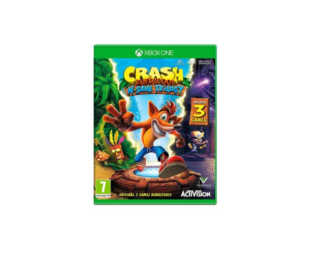 Xbox Crash Bandicoot N.Sane Trilogy - 416789 - zdjęcie