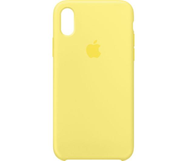 huge discount d5da6 bd06a Apple Silicone Case do iPhone X Lemonade - Etui i obudowy na smartfony -  Sklep komputerowy - x-kom.pl