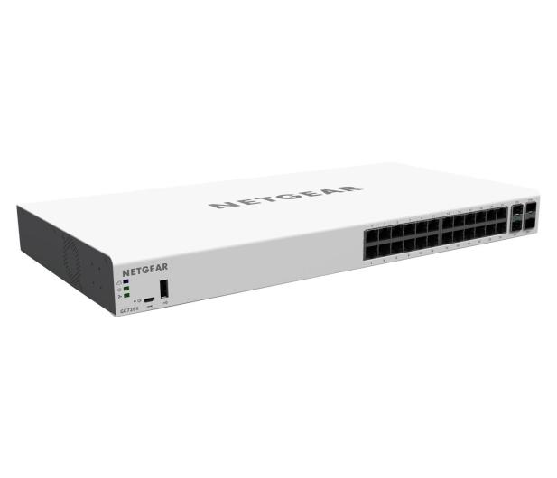Netgear 28p GC728X Smart Cloud (24x1000Mbit 2xSFP 2xSFP+) - 409507 - zdjęcie 2