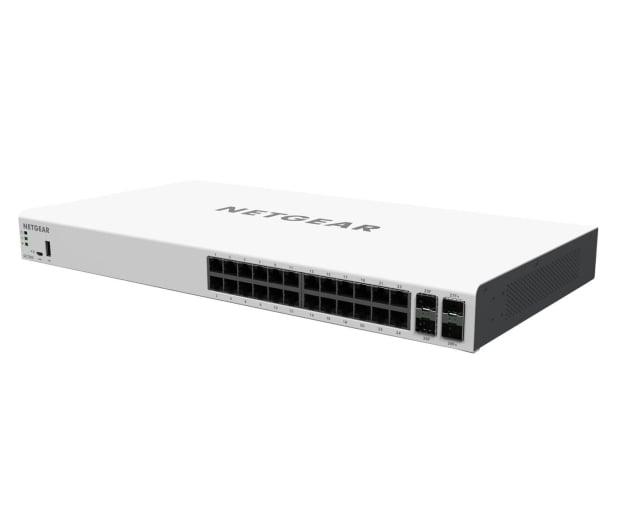 Netgear 28p GC728X Smart Cloud (24x1000Mbit 2xSFP 2xSFP+) - 409507 - zdjęcie 3