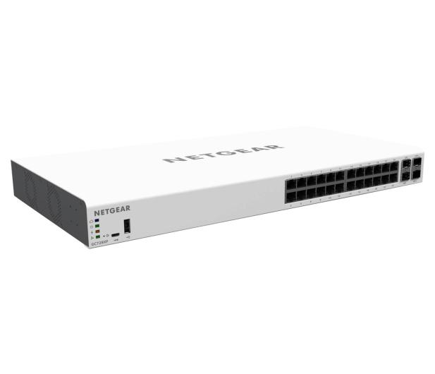 Netgear 28p GC728XP Smart (24x1000Mbit 2xSFP 2xSFP+) PoE+ - 409509 - zdjęcie 2