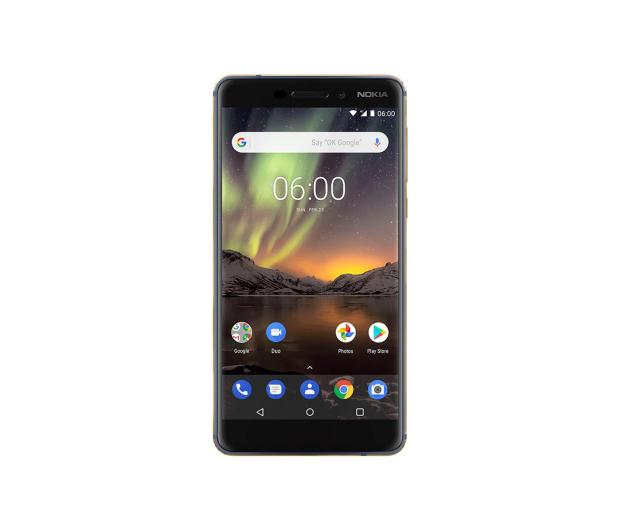 Nokia 6.1 Dual SIM granatowo-złoty + VR  - 443683 - zdjęcie 3