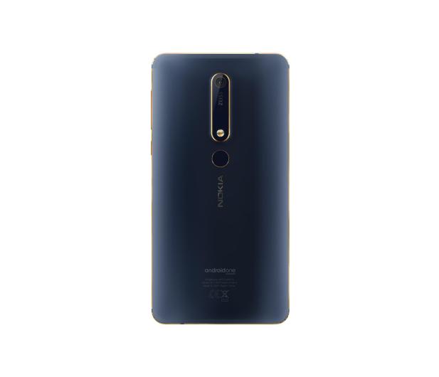 Nokia 6.1 Dual SIM granatowo-złoty + VR  - 443683 - zdjęcie 4