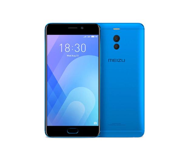 Meizu M6 Note 3/16GB Dual SIM 4000mAh niebieski - 424387 - zdjęcie