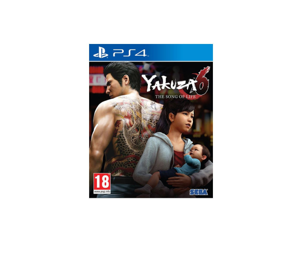 CENEGA YAKUZA 6: The SONG of LIFE- ESSENCE OF ART EDITION - 424734 - zdjęcie
