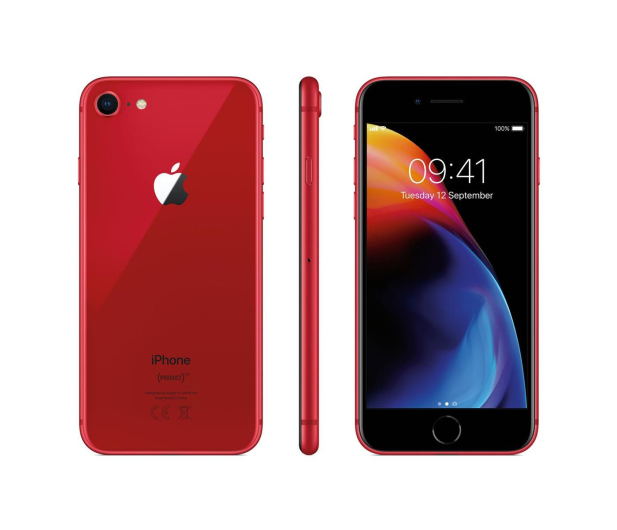 Apple iPhone 8 64GB (PRODUCT)RED Special Edition  - 423674 - zdjęcie