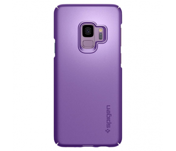 Spigen Thin Fit do Galaxy S9 Lilac Purple  - 424826 - zdjęcie 3