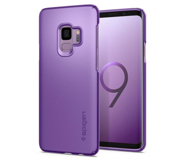 Spigen Thin Fit do Galaxy S9 Lilac Purple  - 424826 - zdjęcie