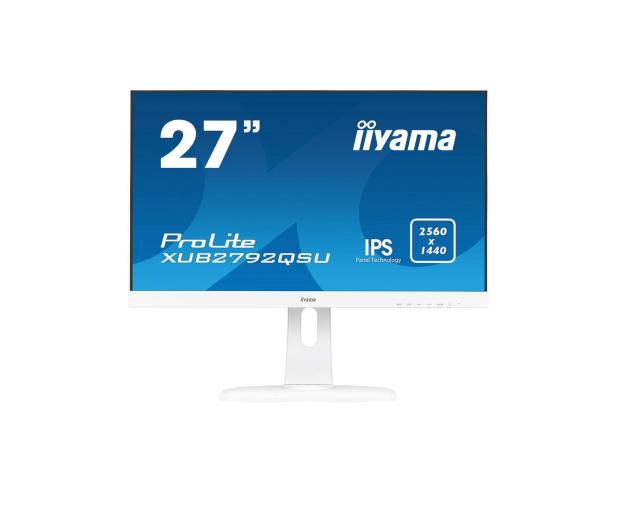 iiyama XUB2792QSU biały - 425457 - zdjęcie