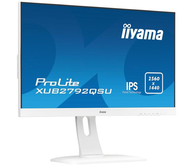 iiyama XUB2792QSU biały - 425457 - zdjęcie 8