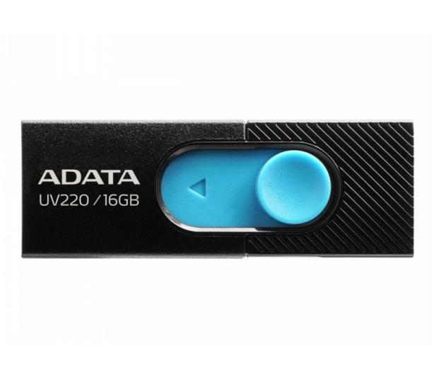 ADATA 16GB UV220 czarno-niebieski - 425738 - zdjęcie