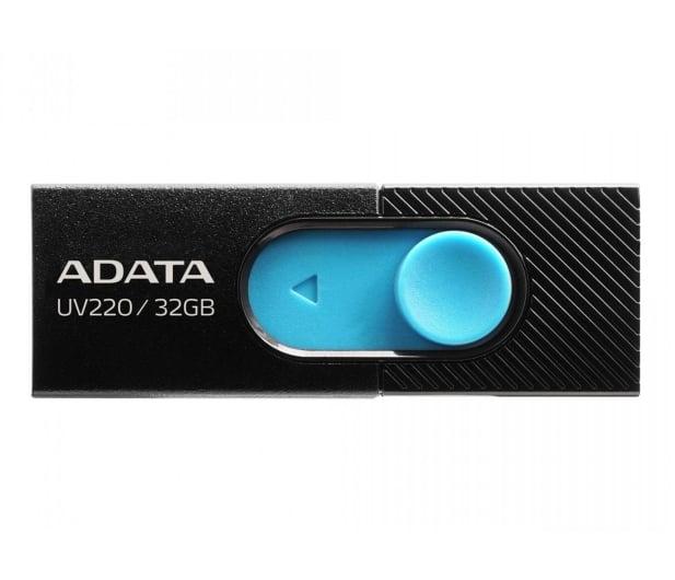 ADATA 32GB UV220 czarno-niebieski - 425746 - zdjęcie