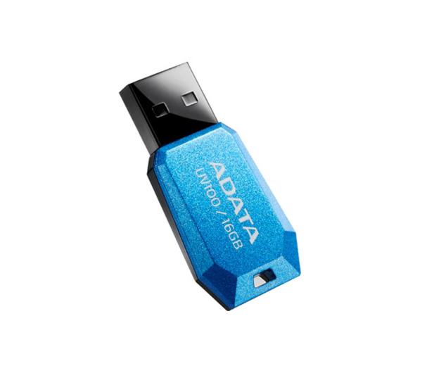ADATA 16GB DashDrive Value UV100 niebieski - 425759 - zdjęcie