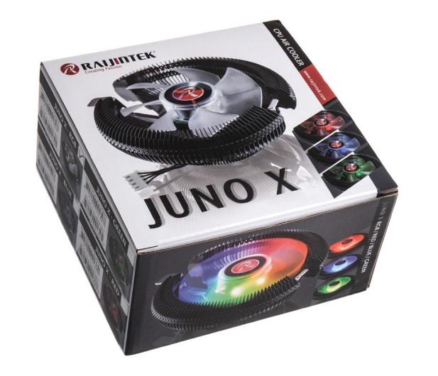 Raijintek Juno-X RGB 92mm - 424050 - zdjęcie 6