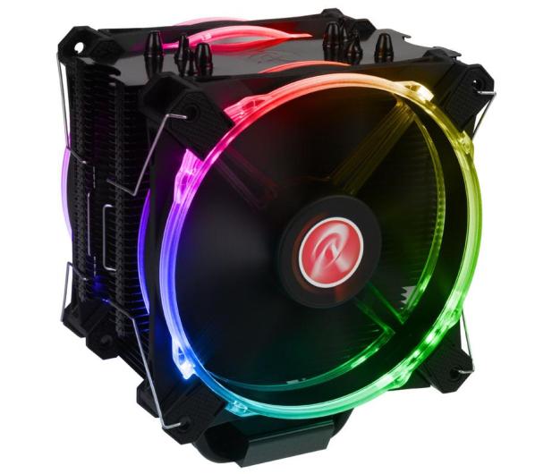 Raijintek Leto Pro LED RGB 120mm - 424063 - zdjęcie