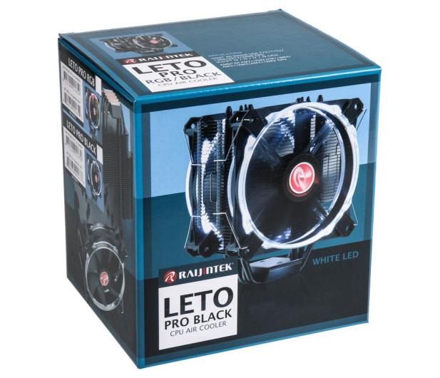Raijintek Leto Pro LED RGB 120mm - 424063 - zdjęcie 7
