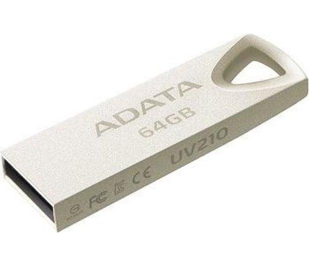 ADATA 64GB UV210 metalowy  - 425767 - zdjęcie 2