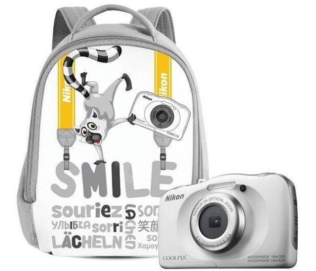 Nikon Coolpix W100 biały + plecak  - 426237 - zdjęcie 7
