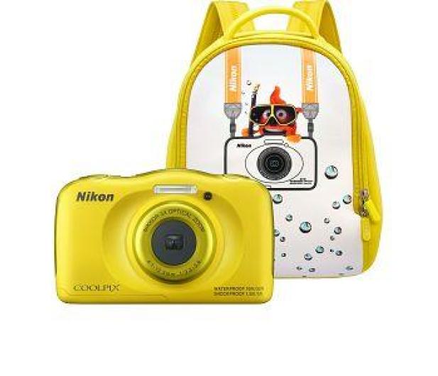 Nikon Coolpix W100 żółty + plecak  - 426241 - zdjęcie 7