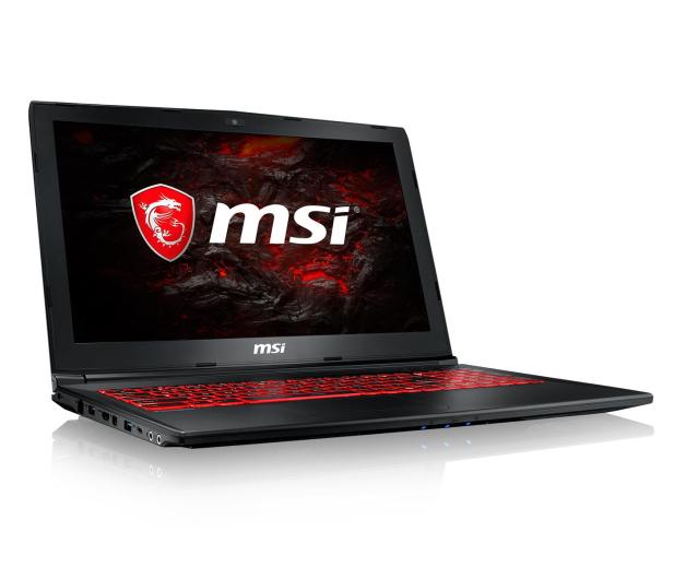MSI GL62MVR i7-7700HQ/16GB/1TB+240 GTX1060 IPS  - 436142 - zdjęcie 4