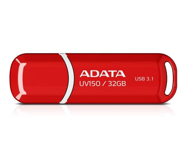 ADATA 32GB DashDrive UV150 czerwony (USB 3.1)  - 425777 - zdjęcie