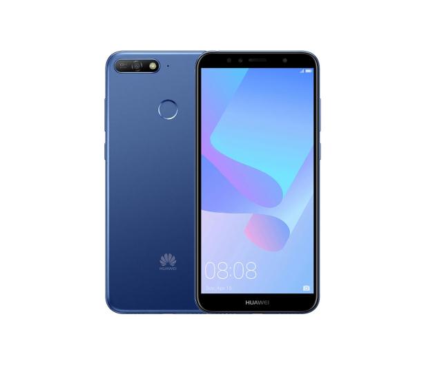 Huawei Y6 Prime 2018 Niebieski - 422045 - zdjęcie