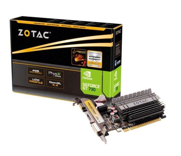 Zotac  GeForce GT 730 Zone Edition 4GB DDR3 - 427280 - zdjęcie
