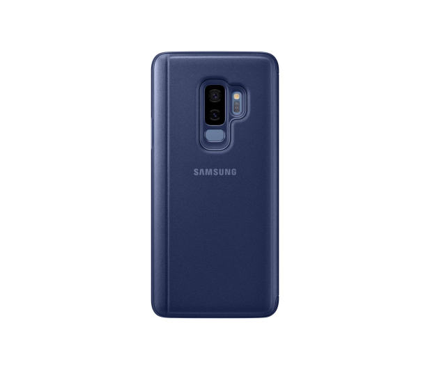 Samsung Clear View Standing Cover do Galaxy S9+ Blue - 405925 - zdjęcie 4