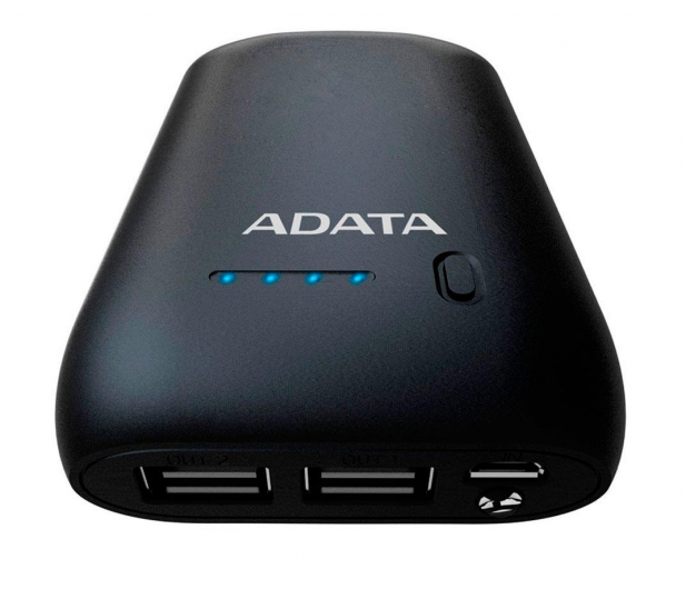 ADATA Power Bank P10050 10050 mAh 2.4 A (czarny) - 427671 - zdjęcie 2