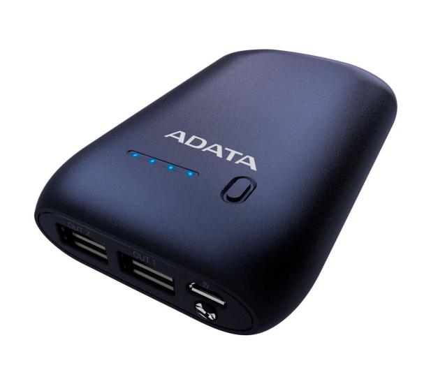 ADATA Power Bank P10050 10050 mAh 2.4A (granatowy) - 427674 - zdjęcie 4