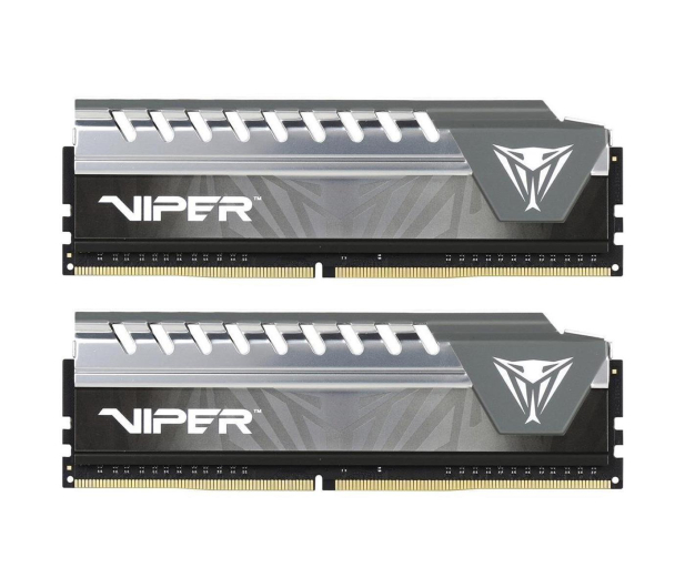 Patriot 8GB(2x4GB) 2666MHz CL16 Viper Elite Grey - 427698 - zdjęcie