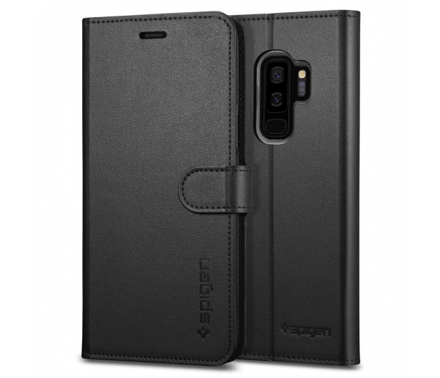 Spigen Wallet S do Galaxy S9+ Black  - 424914 - zdjęcie