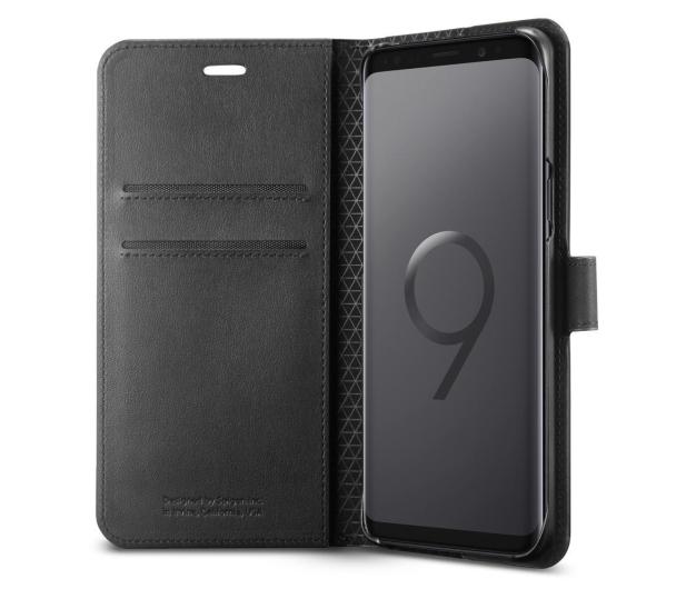 Spigen Wallet S do Galaxy S9+ Black  - 424914 - zdjęcie 2