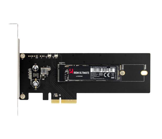 GOODRAM 480GB PCIe x4 M.2 2280 HHHL IRDM Ultimate  - 421893 - zdjęcie