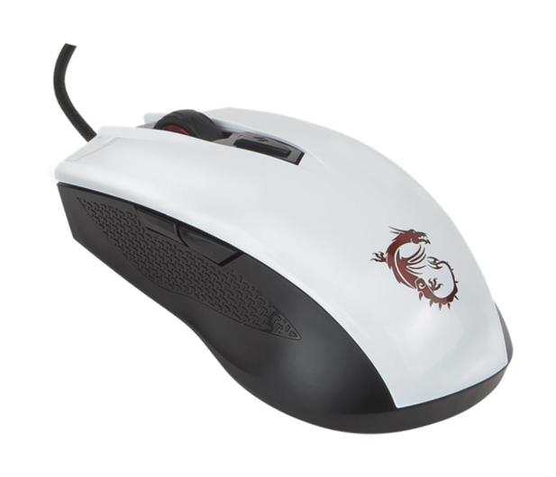 MSI Clutch GM40 Gaming (Biała) - 420104 - zdjęcie 2