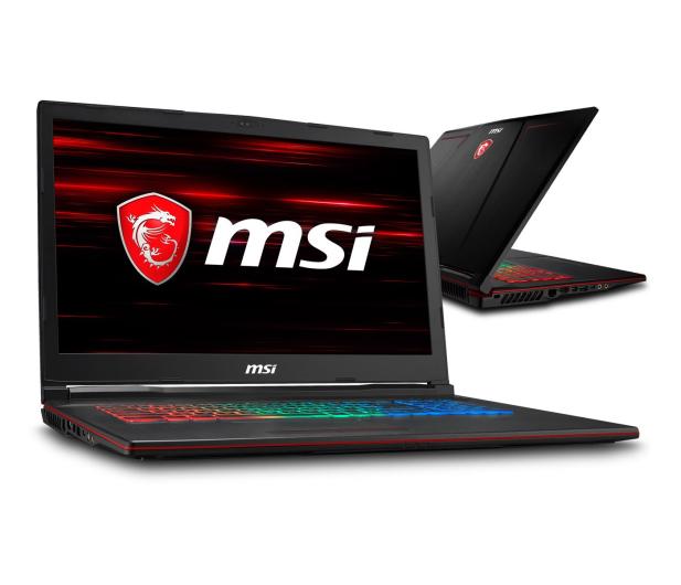 MSI GP73 i7-8750H/8GB/240+1TB GTX1060  - 440118 - zdjęcie
