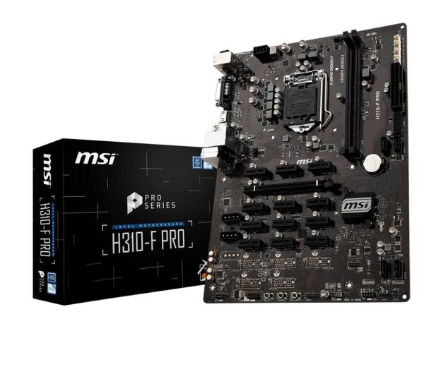 MSI H310-F PRO - 422489 - zdjęcie