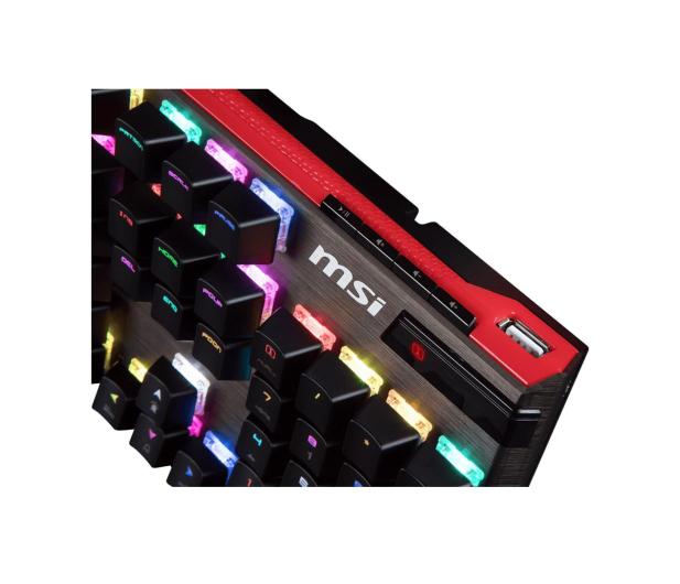 MSI Vigor GK80 (Cherry MX RED - RGB) - 420112 - zdjęcie 3
