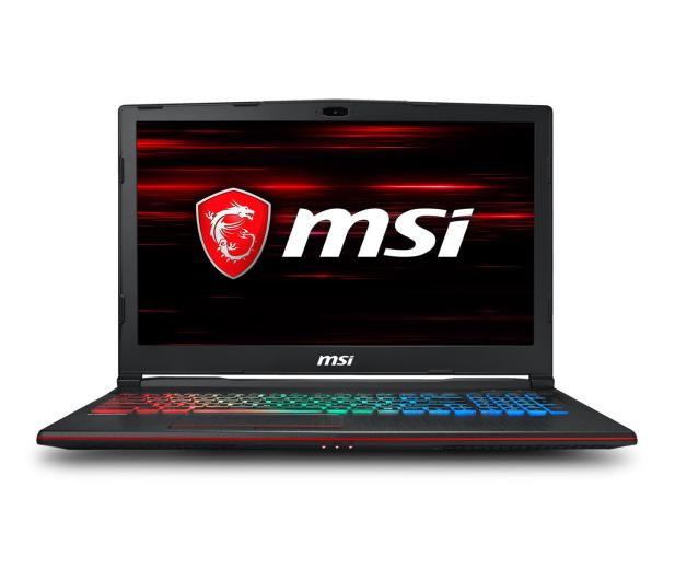 MSI GP63 i7-8750H/8GB/240+1TB/Win10 GTX1060  - 444026 - zdjęcie 2