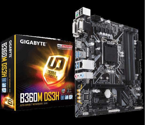 Gigabyte B360M DS3H - 421740 - zdjęcie