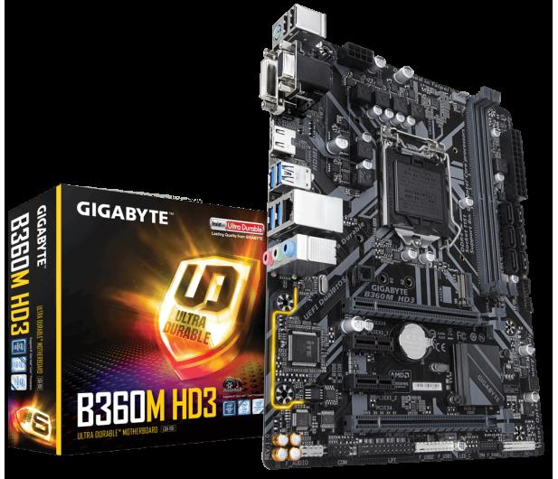 Gigabyte B360M HD3 - 421058 - zdjęcie