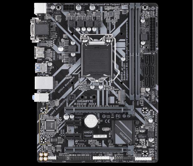 Gigabyte B360M HD3 - 421058 - zdjęcie 3