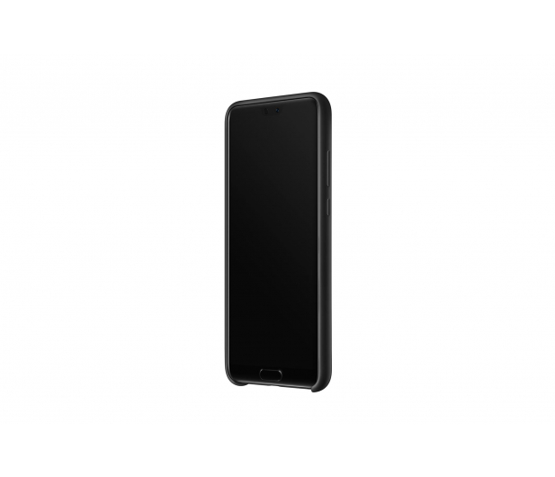 Huawei Silikonowe Plecki do Huawei P20 czarny - 413696 - zdjęcie 3